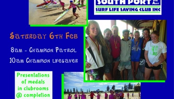 Champion Lifesaver & Champion Patrol State Titles