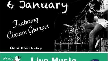 Sunday Session Jan 6 featuring Ciaram Granger