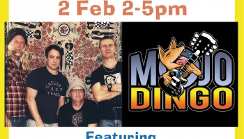 Sunday Session - 2 Feb featuring Mojo Dingo