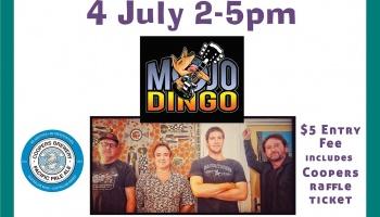 Sunday Session - 4 July with Mojo Dingo