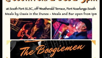 Sunday Session 2 December featuring The Boogiemen