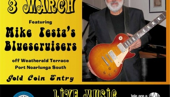Sunday Session March 3 featuring Mike Festa's Bluescruisers