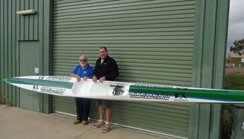 Thanks to Gerry & Lats for the New Ski!